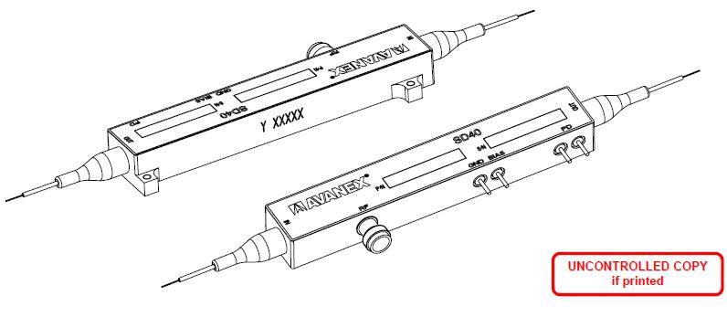 40g fiber optical intensity modulator c l  pm  pm